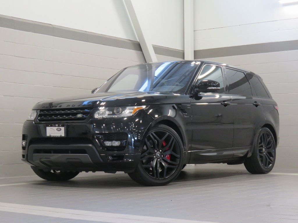 Certified Pre-Owned 2017 Land Rover Range Rover Sport 3.0L V6 Supercharged HSE Dynamic